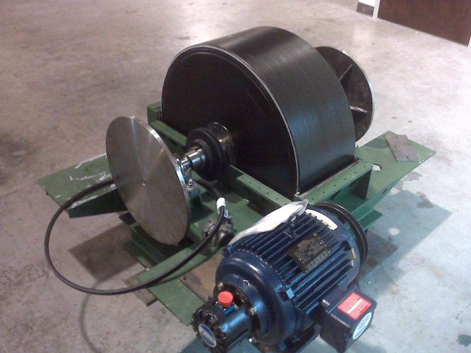 Flywheel Generator Solid Engineering Corporation